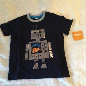 Gymboree Robot Pizza T-shirt Boys